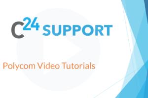 Polycom Video Tutorials