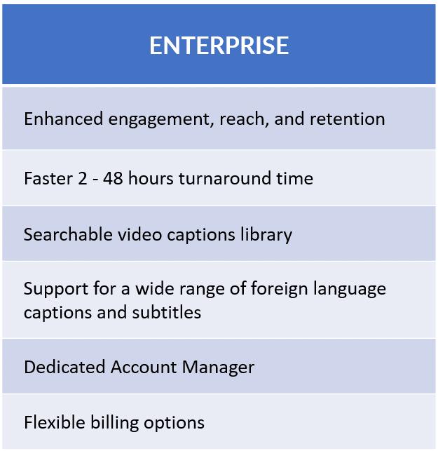 cielo24 Enterprise