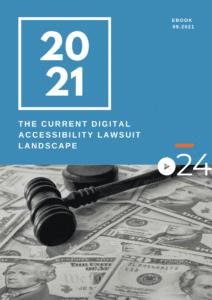 cielo24 eBook COVER - The Current Digital Accessibility Lawsuit Landscape eBook